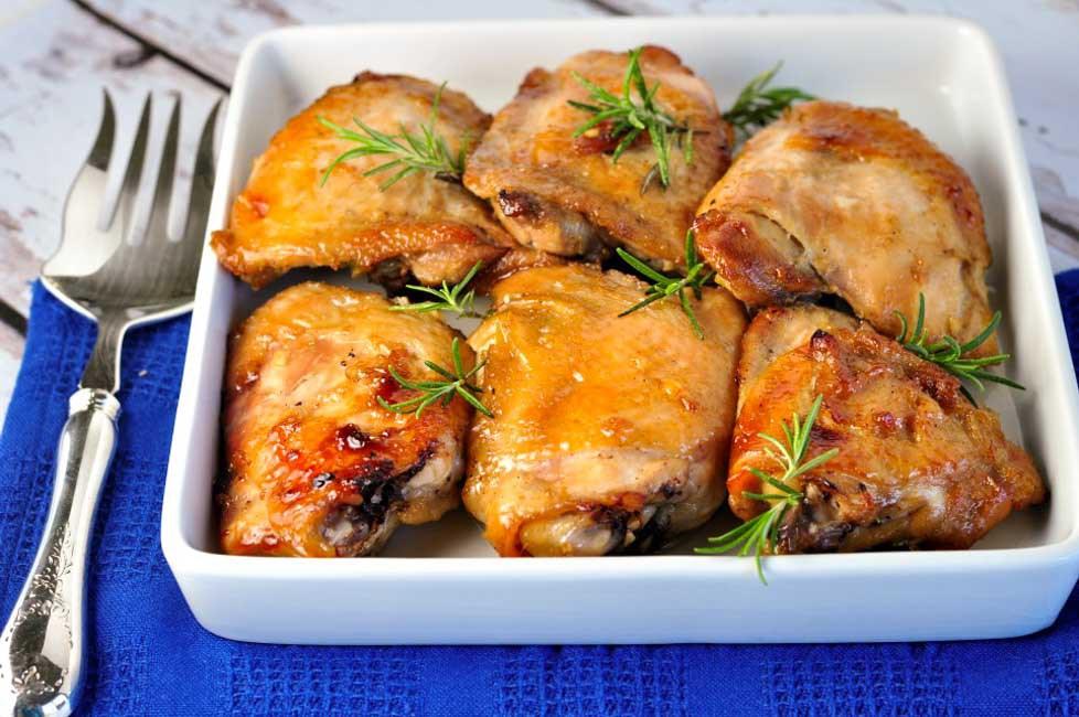 Recette facile de poulet à l'érable