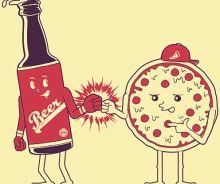 Pâte à pizza à la bière