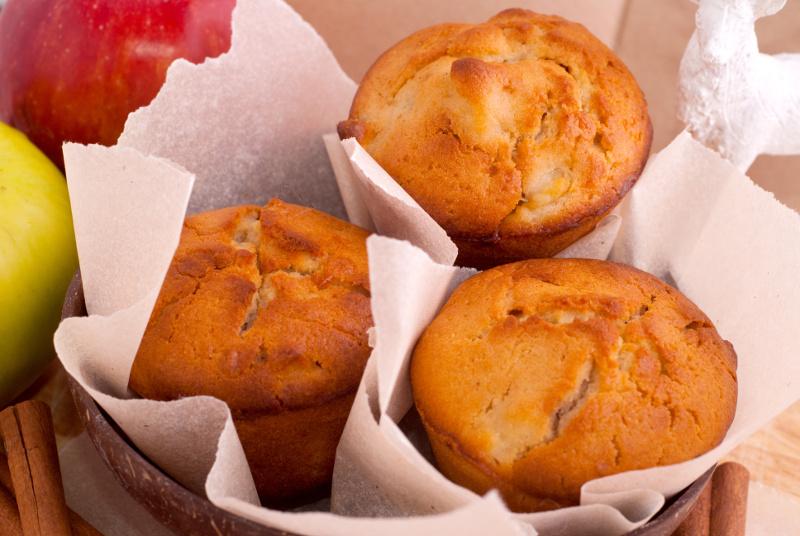 une recette de muffins aux pommes absolument d licieuse. Black Bedroom Furniture Sets. Home Design Ideas
