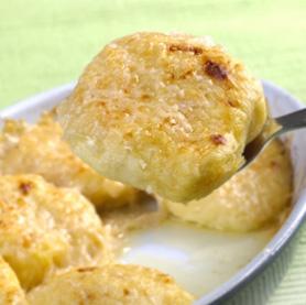 Patates parmesan