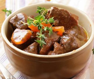 Recette facile de bœuf bourguignon