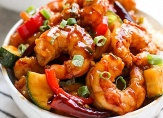 La fameuse recette de crevettes à la chinoise (style Kung Pao)