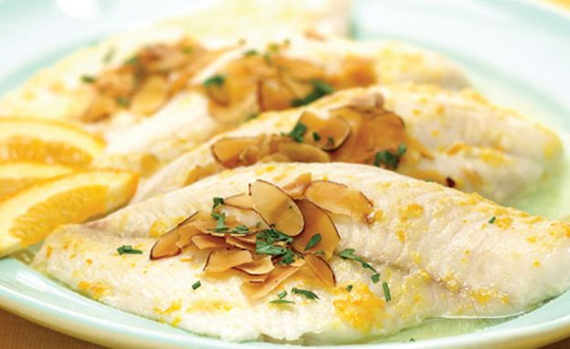 Recette facile de filet de sole amandine!