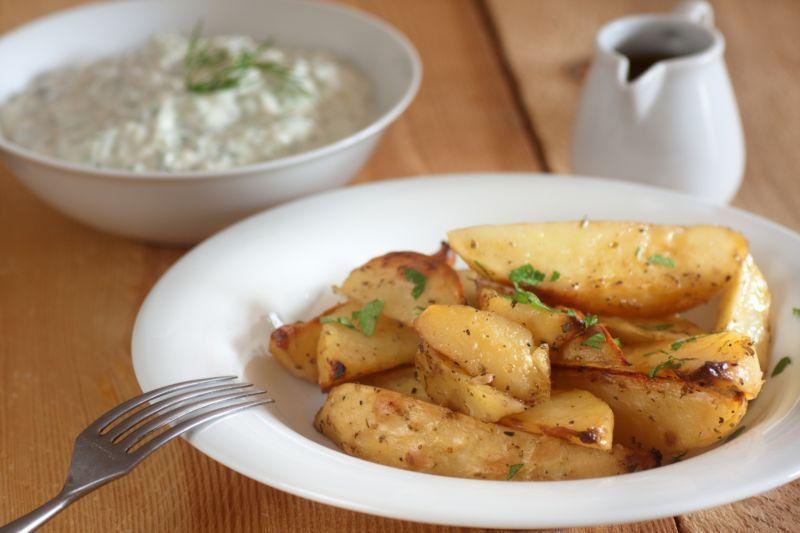 La recette des meilleures patates grecques maison!