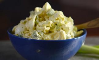 Salade aux oeufs