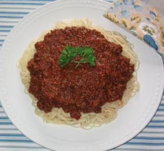 Sauce à spaghetti italien