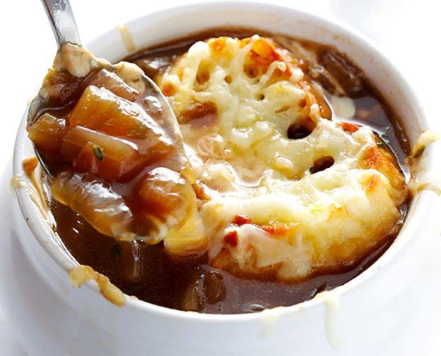 Recette facile de soupe à l'oignon!