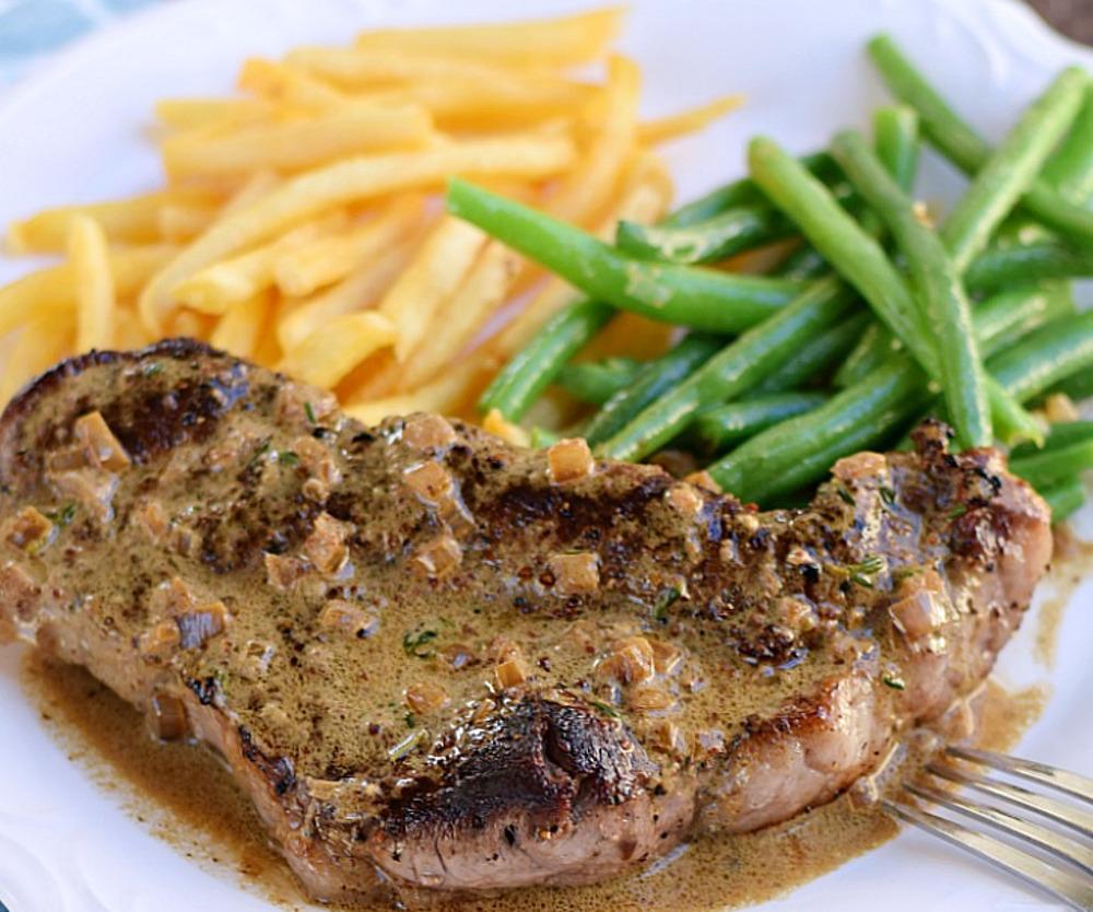 La meilleure recette de steak au poivre (Un souper de champion!)