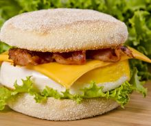 Sandwich déjeuner (style Oeuf McMuffin)