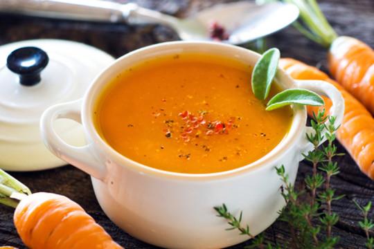 Recette facile de potage aux carottes!