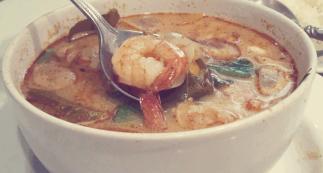Soupe de crevettes aigre-douce