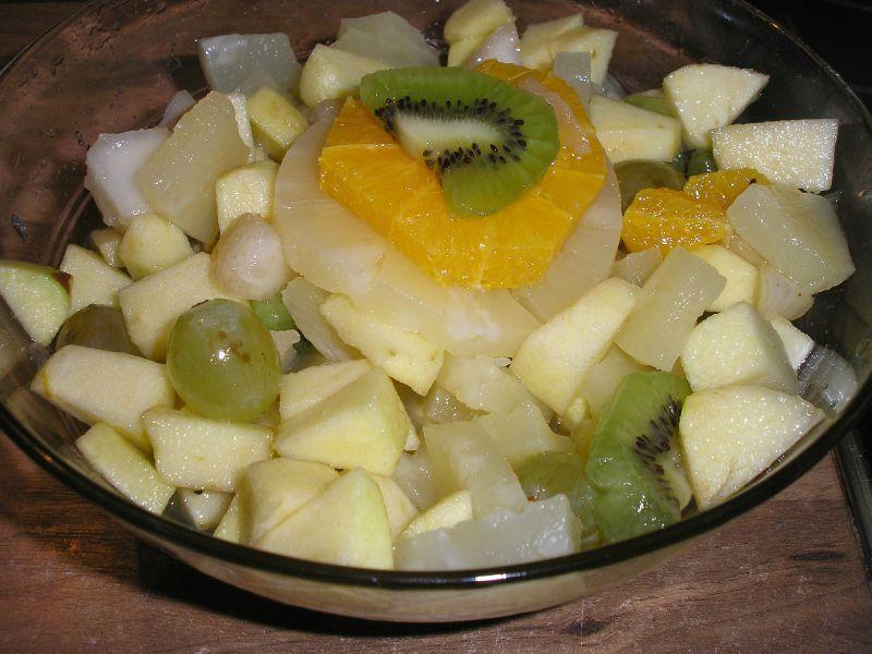 Recette de Salade de fruits d'automne toute simple et ...