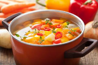 Soupe aux légumes réconfortante