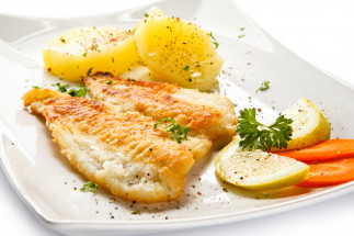 Petits poissons des chenaux frits