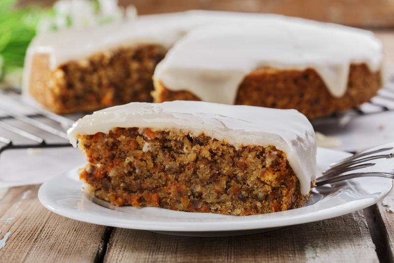Sweet Cake Au Carottes