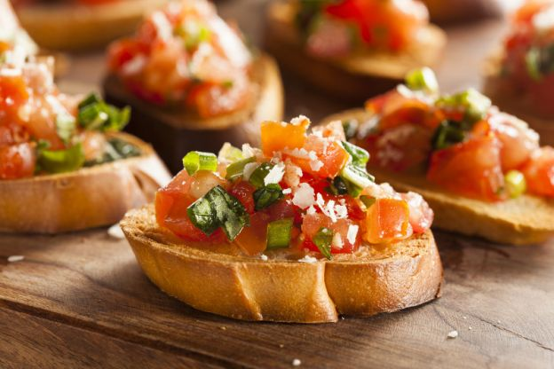 recette facile de bruschetta fait maison d licieux. Black Bedroom Furniture Sets. Home Design Ideas