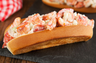 Lobster rolls de la Gaspésie