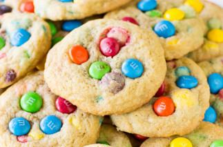 Biscuits aux M&M