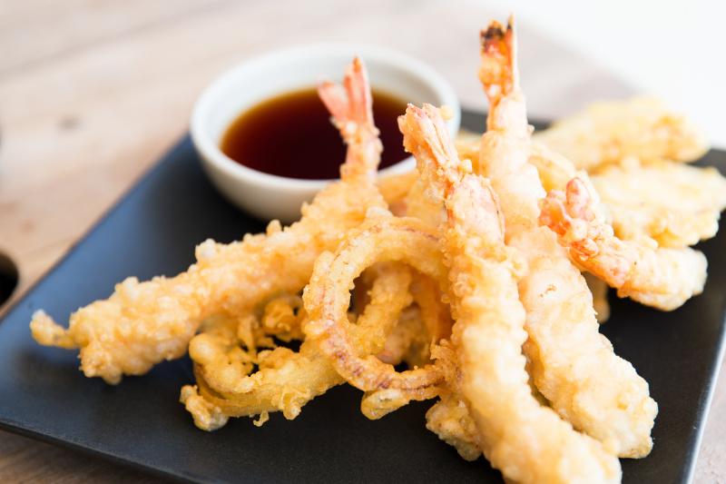 recette de crevettes tempura toute simple faire. Black Bedroom Furniture Sets. Home Design Ideas