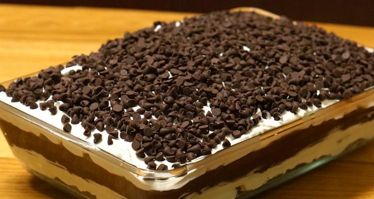 La lasagne au chocolat est le dessert rafraîchissant parfait de l'été!