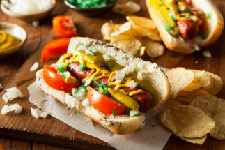 Hot-dog de Chicago