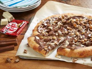 Pizza à la Kit Kat