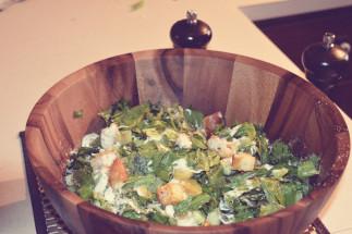 Salade croustillante au poulet pané sans gluten de Flamingo