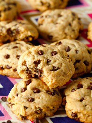 Biscuits santé aux pépites de chocolat