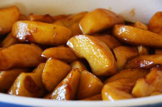 Poêlée de pommes caramélisées