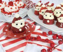 Père Noël aux fraises