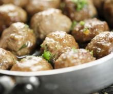 Ragoût de boulettes traditionnel