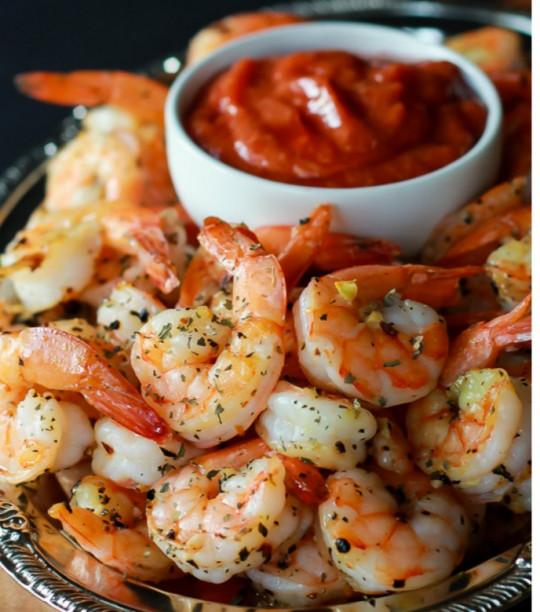 Recette facile de crevettes grillées