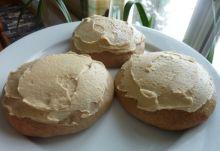 Galettes blanches de grand-mère au sucre à la crème