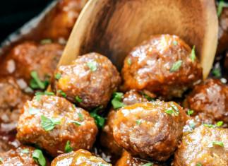 Boulettes de viande à la mijoteuse sauce Buffalo et miel