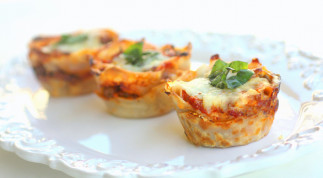 Recette facile de cupcakes de lasagne