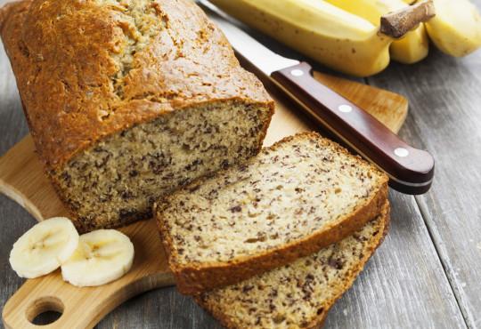 Recette facile de pain aux bananes moelleux