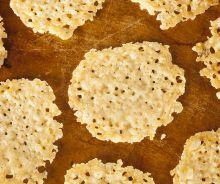 Chips de fromage parmesan