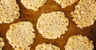 Recette de chips de parmesan maison