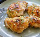 Cuisse de poulet au miel, ail et moutarde de Dijon