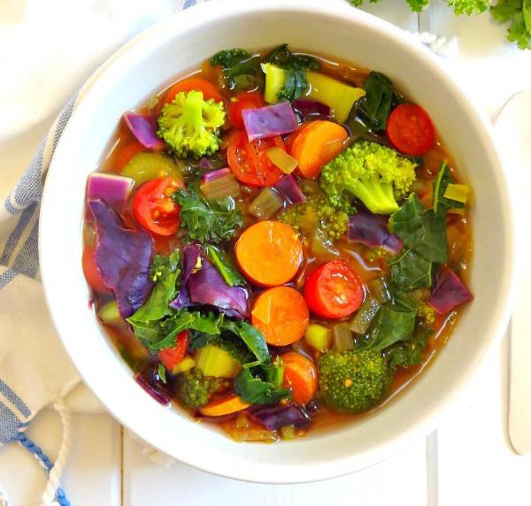 Recette santé de soupe détoxifiante!