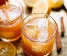 Whiskey sour au sirop d'érable