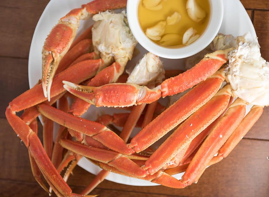 Recette facile de crabes des neiges à la vapeur!