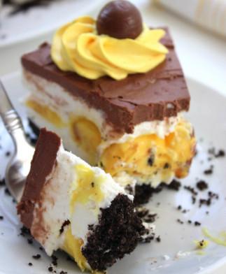 Recette de gâteau au fromage aux oeufs Cadburry (sans-cuisson)