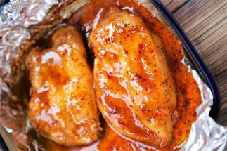 Poulet italien à la cassonade (3 ingrédients)