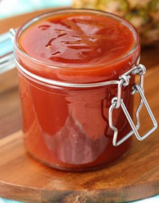 Recette parfaite de sauce BBQ à l'ananas et à la cassonade