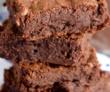 Brownies au fudge et au café mocha