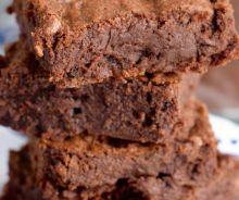 Brownies au fudge et au café mocha