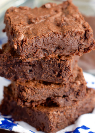 Recette de brownies au fudge et au café mocha