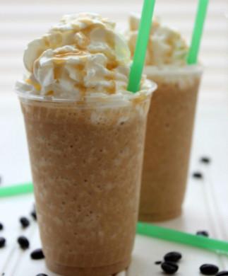 Frappuccino au caramel (style StarBucks)