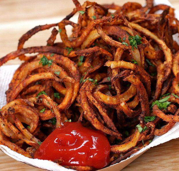 Recette facile de frites de carnaval en spirales!